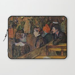 "Henri de Toulouse-Lautrec ""Ball at the Moulin de la Galette"" Laptop Sleeve"