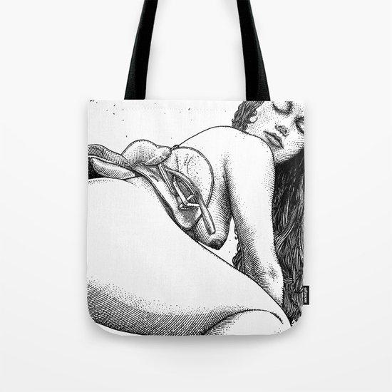asc 696 - La femme énergique (The virile man is the one who does not let Tote Bag