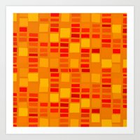 mosaic Art Prints featuring mosaic by Ioana Luscov
