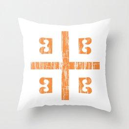 Byzantine Cross Throw Pillow
