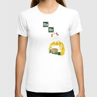 baking T-shirts featuring Baking Bread by azra