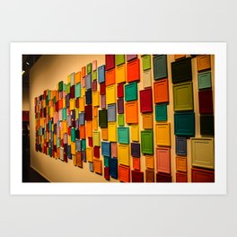 Colour. Art Print