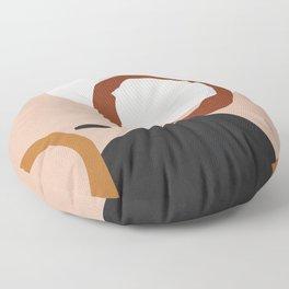 Abstract Art 17 Floor Pillow