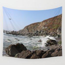 Bodega Bay Beach, Sonoma County, California Wall Tapestry