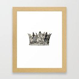 Crown I Framed Art Print
