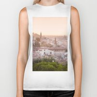 florence Biker Tanks featuring Florence by ocophoto