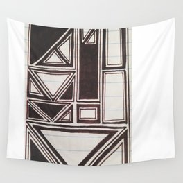 Squares Squared  Wall Tapestry
