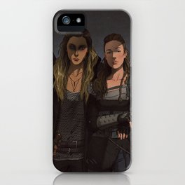 Her Second iPhone Case