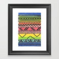 Tribal #3 Framed Art Print