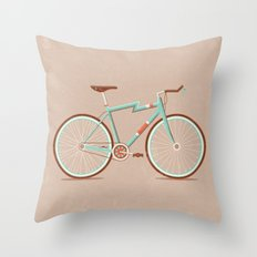 Bicycle Throw Pillow