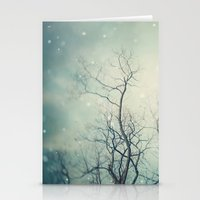 poem Stationery Cards featuring Winter Poem  by Laura Ruth