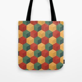 Retro Cubic Tote Bag
