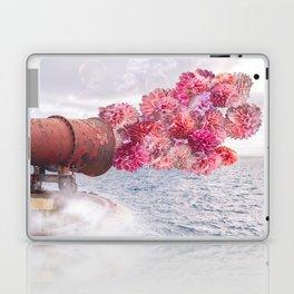 Floral Fog Horn Laptop & iPad Skin