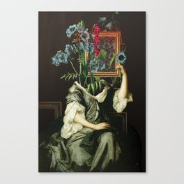 Florales Portrait Disaster Canvas Print