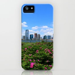 View Onto Jersey City iPhone Case