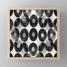 Something Nostalgic II - Black And White #decor #buyart #society6 Framed Mini Art Print