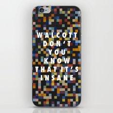 Spectrum Colors Arranged by Walcott iPhone & iPod Skin