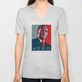 Hero Unisex V-Neck