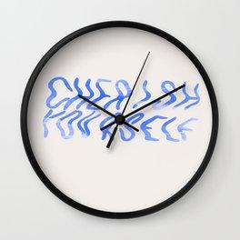 Cherish Yourself Wall Clock