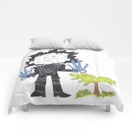 Mr Scissor Hands Comforters