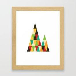 Patterned 7A Framed Art Print