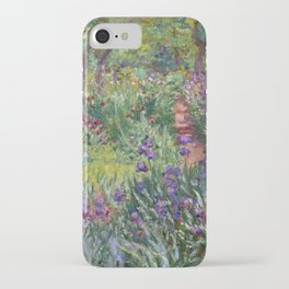 The Artist's Garden at Giverny by Claude Monet (1900) iPhone Case