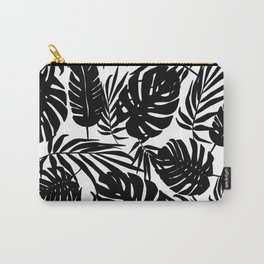 Urban Jungle White Carry-All Pouch