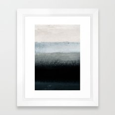 shades of grey Framed Art Print