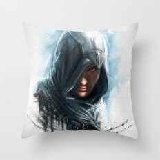 'We work in the dark, to serve the light'...Altair Throw Pillow