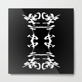 JAPANESE KANJI ART (CHUNIBYO=NERD) by AKIRA Metal Print