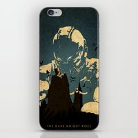 bane iPhone & iPod Skins featuring Bane  by Edmond Lim