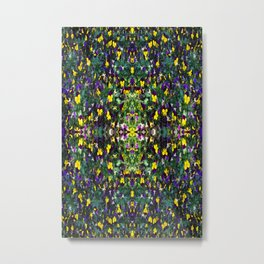 kaleidoscope Viola bed Metal Print