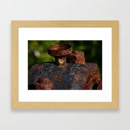 Rust - I Framed Art Print