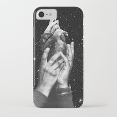 Heart says hold on iPhone 7 Slim Case