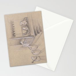 Snowball Stand Stationery Cards