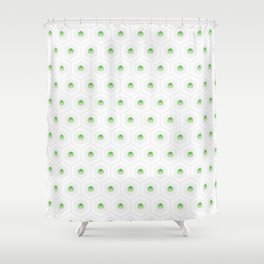 Artichoke Geometrics Shower Curtain