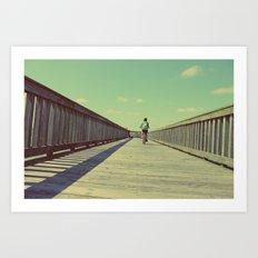 ∞† Art Print