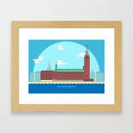 Stockholm - City Hall Framed Art Print