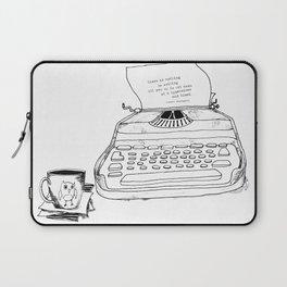 Earnest Hemingway Writing on Typewriter Laptop Sleeve