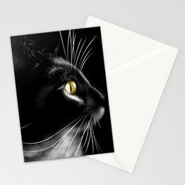 Portrait of a cool cat Stationery Cards