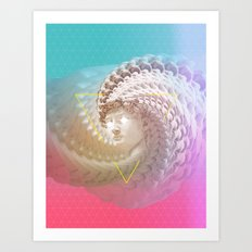 David in love Art Print