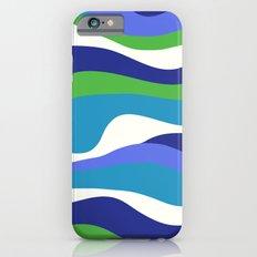Cordillera Stripe: Purple and Green Combo iPhone 6 Slim Case