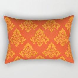 The Grand Royale (Orange) Rectangular Pillow