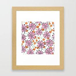 Umbrella Tops Framed Art Print