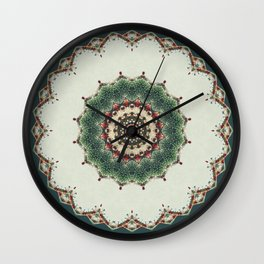 Need a Little Christmas -- Greeting Card Wall Clock