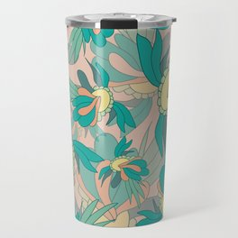 Abstract summer flower composition Travel Mug