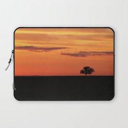 Lone Tree in Field Laptop Sleeve