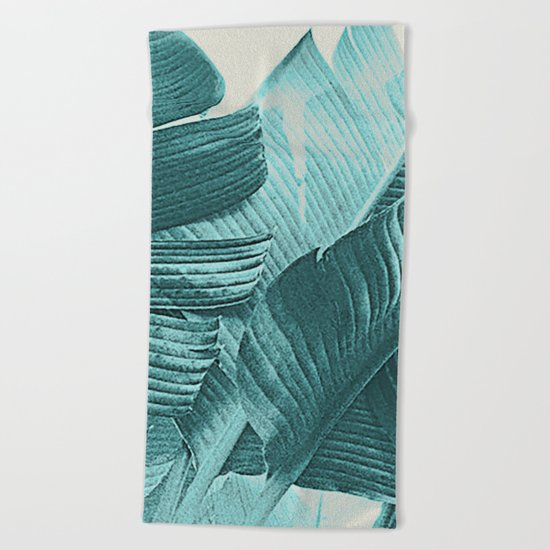Banana Palm Beach Towel