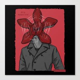 Creature in a coat Canvas Print