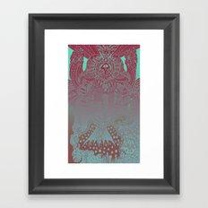 Imaginative Doodle Framed Art Print